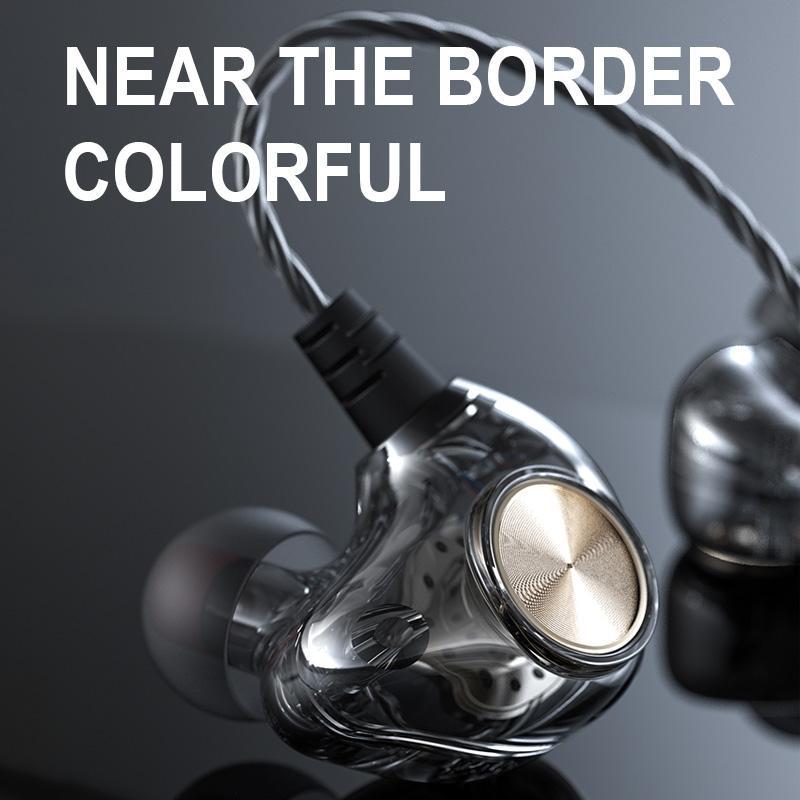 الرياضة السلكية سماعات تشغيل سماعة الكمبيوتر سماعات الرأس نقاط يدوي سماعات الأذن لaudifonos MP3 Redmi Umidigi F2