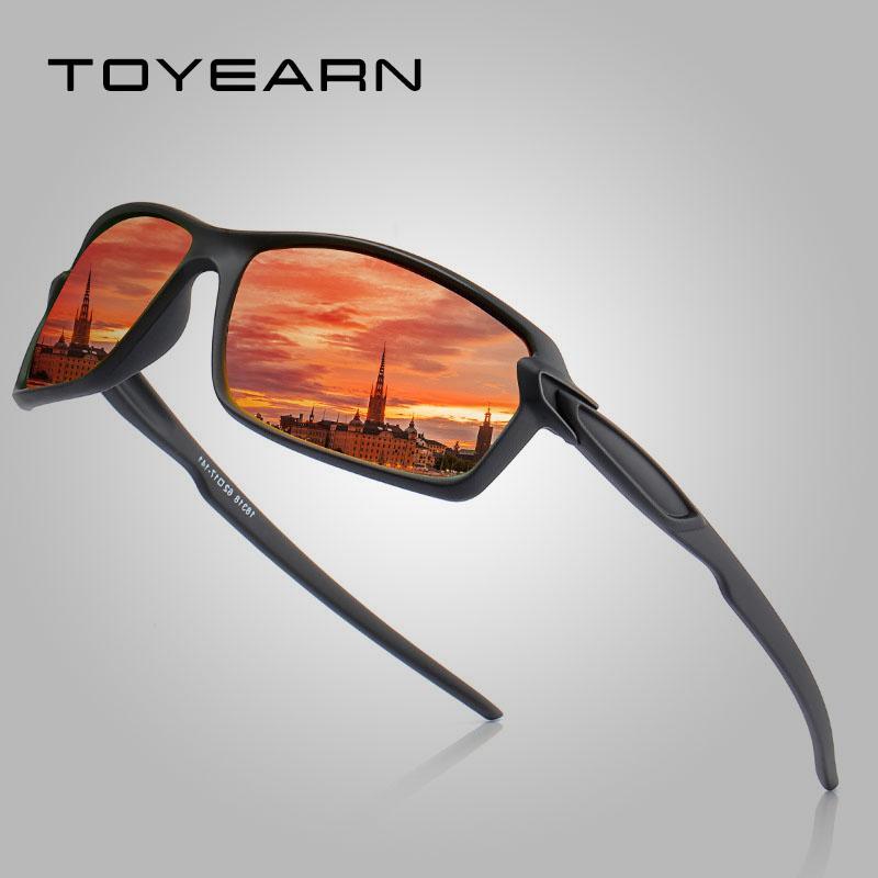 Солнцезащитные очки Мода Высокое Качество 100% Поляризованные Мужские Бренд Дизайн Вождение Очки Зеркальные оттенки Рыбалка Спорт Солнцезащитные Очки для Мужчины