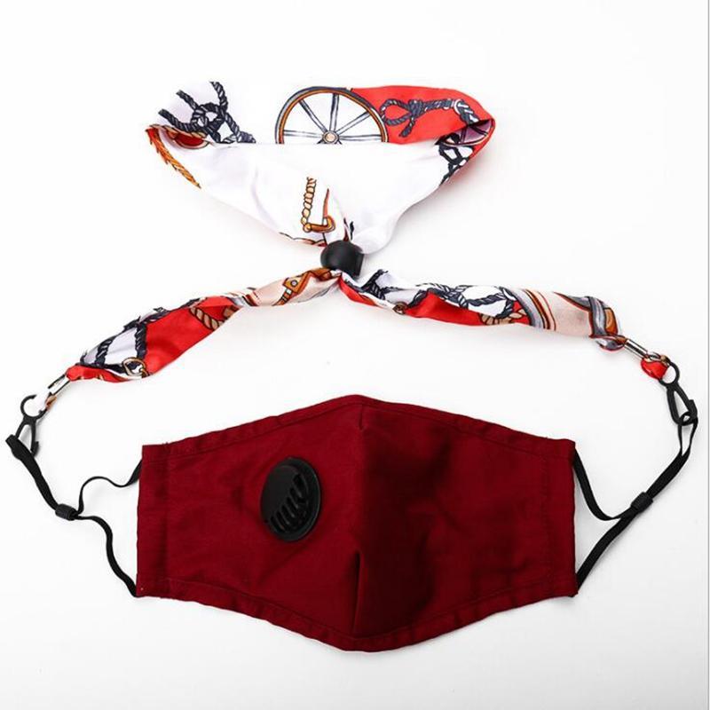 Máscara máscaras de máscaras reutilizable cara de reposo de la extensión de la extensión de metal en la máscara con máscara titular de la cuerda colgar máscaras de la cuerda de cuello yya490 Favor de la fiesta Lanyard DNUF