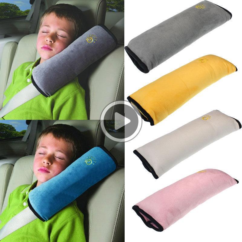 Crianças Safety Car macio assento do bebê Cole cintos de ombro er Harness ow Proteção 5 cores