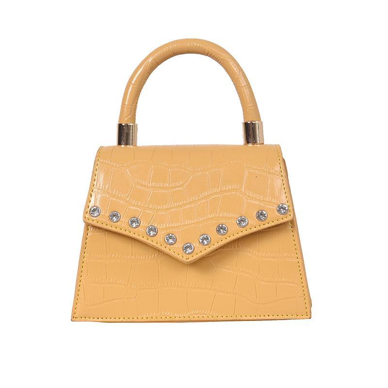 Design Pattern Fashion Spalla di lusso Diagonale Diagonale Diagonale Borsa a tracolla Borsa a tracolla Borse da donna Chain Femme Main Sac PQHth