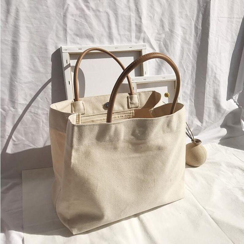 AIMIYOUNG Frauen Schultertasche Canvas Handtaschen Weibliche beiläufige Taschen Große Taschen Bolsa Feminina Bolsos Mujer T200914