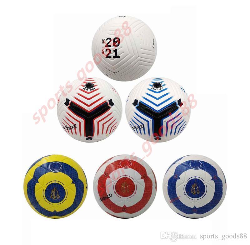 20 21 Melhor qualidade jogo bola de futebol tamanho 2020 5 bolas grânulos antiderrapante futebol transporte livre bola alta qualidade