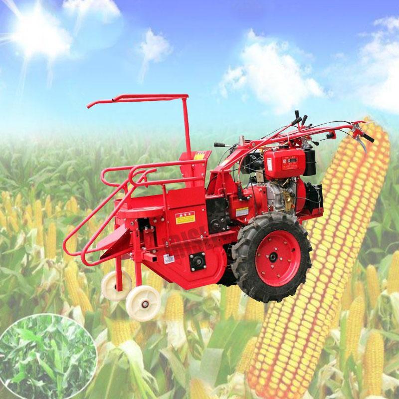 Satılık mısır 2020 sıcak İyi Fiyat Kalite mini mısır hasat makinesi tatlı mısır hasat kombine hasat