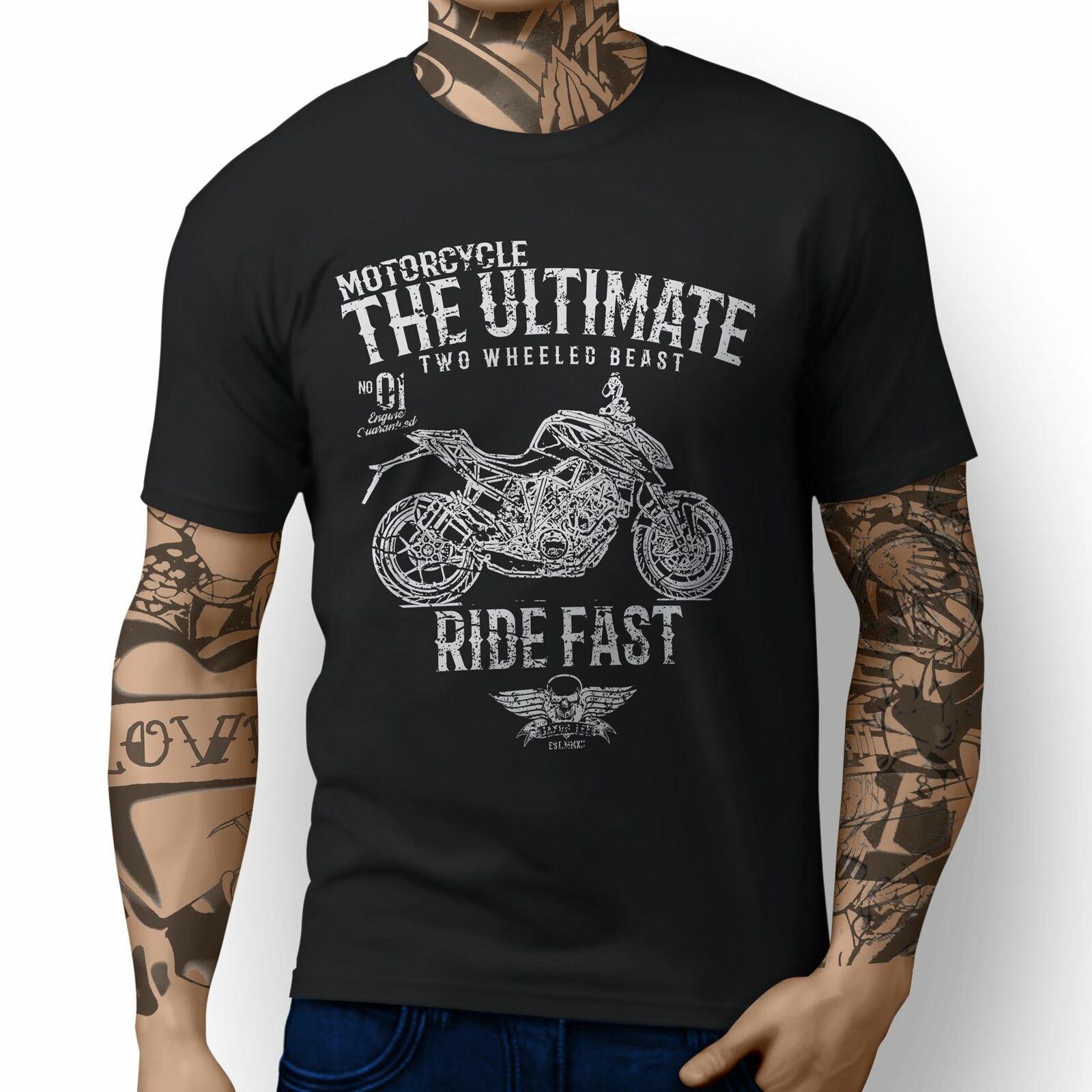 1290 R Superduke Inspired Motorrad-Kunst-T-Shirts Neue 2020 Art und Weise heiße Männer Sommer-O Ansatz Baumwollkreuz Bedruckte T Shirts