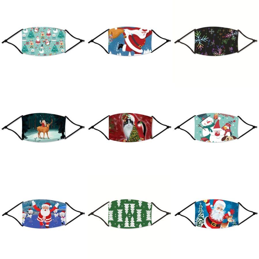 3 1 Yüz Kalkanı Maskeleri Hole Veya Fermuar Cca12291 100pc # 599 Anti Toz Kamuflaj Yüz Maskeleri Yıkanabilir Yağ Koruyucu Maske İçecek Ağız Yüz Maskeleri