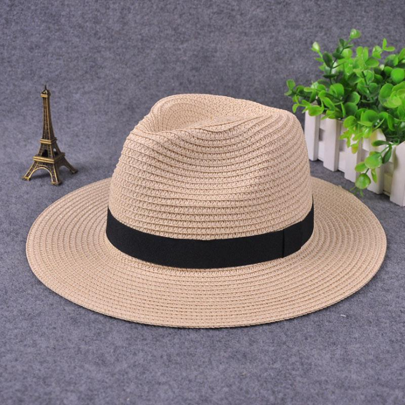 여름 해변 선 스크린 UPF50 + 캡까지 여성 밀짚 모자 파나마 롤