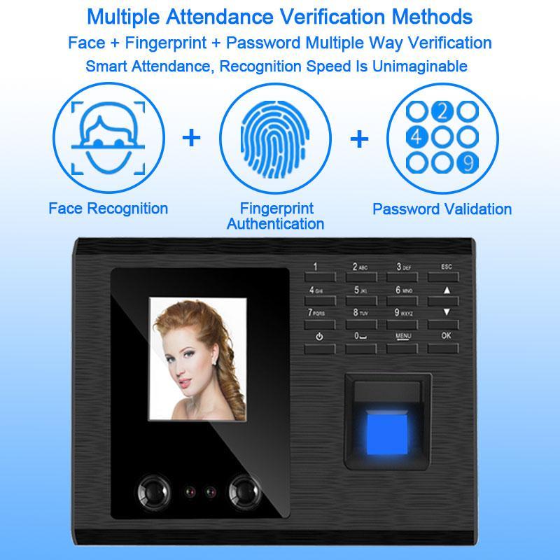Eseye biométrica Sistema de Atendimento USB Fingerprint Time Clock Controle Employee Leitor Máquina Electronic Device Tempo