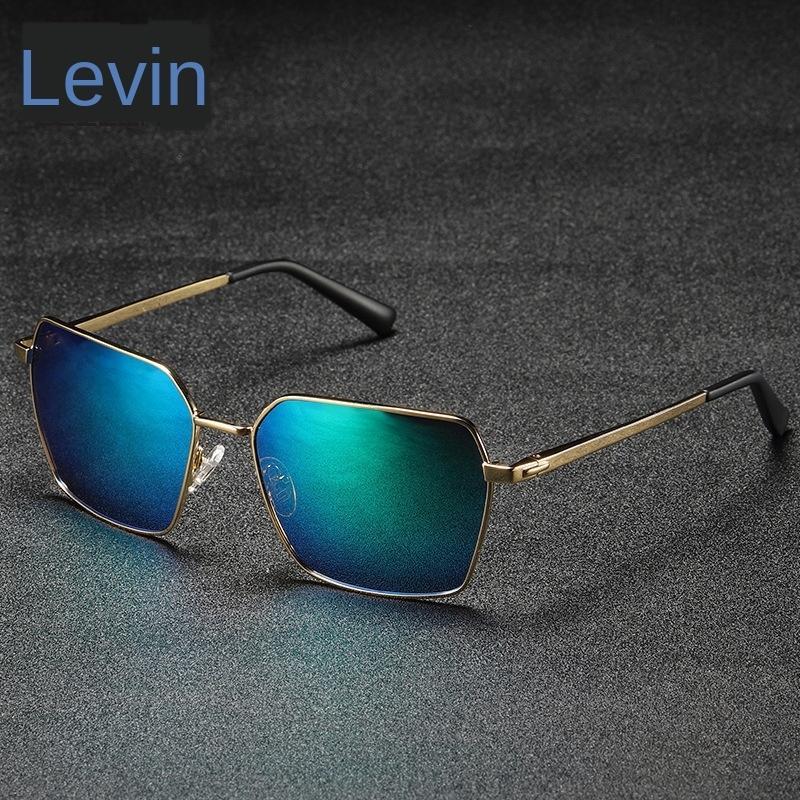 zGcKK 201966 солнце мужской поляризованные очки ВС металл квадрат ездой очки классические солнцезащитные очки