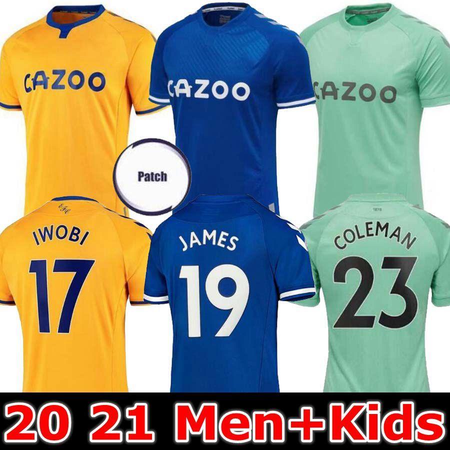 2020 Everton 20 21 Soccer Jersey Richarlison Kean Sigurdsson Football Shirts 2020 2021 Tosun Walcott James Everton Iwobi Home Away Men Kids Kit From Tomato 2019 9 95 Dhgate Com