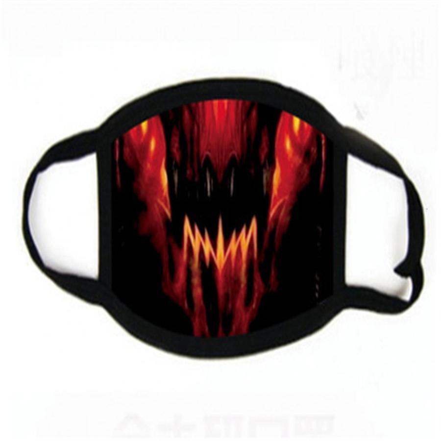 Anti-poussière Fa Mout Disposale Masque filtre 3-laye anti-poussière Meltlown Clot 3 plis masques d'impression non-tissé earloops