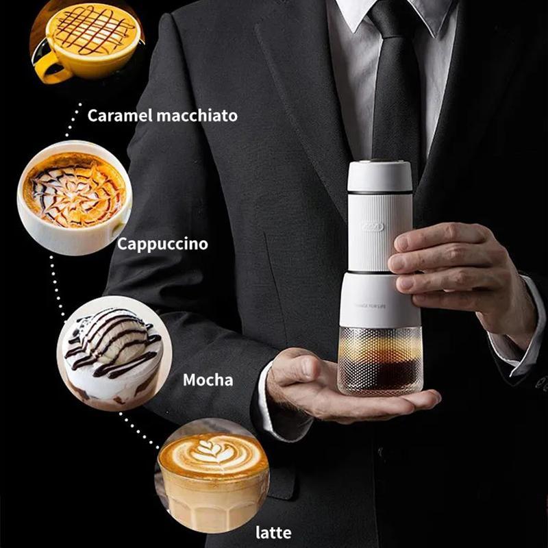 Ручной пресс Пот Кофемашина Портативный Milk Espresso Maker Пенная Mini Малый бытовой Открытый чайник