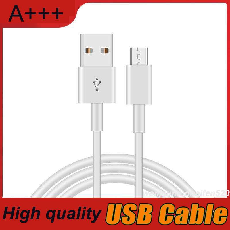 Le moins cher haut débit 1M 3ft Micro USB Type C Câble de charge rapide de type C fil de chargeur Téléphone Câbles