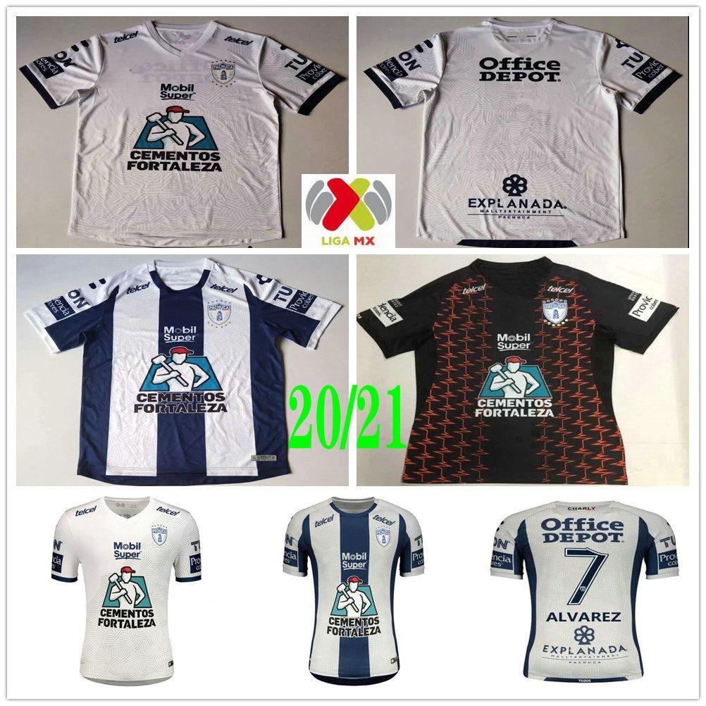 2020 2021 Liga MX Club Charly Pachuca Soccer Jerseys Manii Garcia Jara Guzmdn Uiioa Cardona Alvarez مخصص 20 21 الصفحة الرئيسية قميص كرة القدم