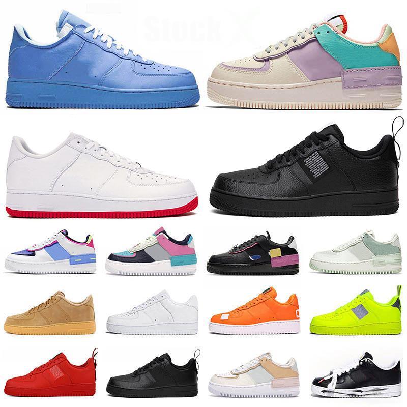 Schuhe nike air force 1 forces af1 Shadow airforce off white Low MCA MOMA stock x 2020 Designer neue Turnschuhe Herren Damen Laufschuhe Luxury Brand Modesport Sneaker