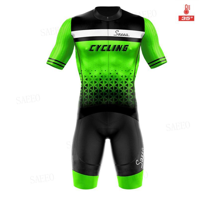 ekoing 2020 hombres ciclismo verano Conjunto De manga corta Jersey y pantalones cortos De babero transpirable MTB Rennen maillot
