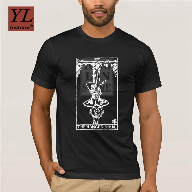 Il Maniche corte annata di disegno nuovo di modo maglietta Appeso Tarocchi maglietta