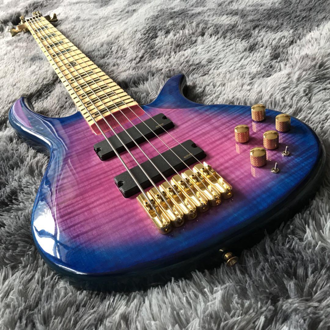 사용자는 골드 하드웨어 (6) 문자열 활성 천연베이스 기타 무료 배송 기타를 제공했다