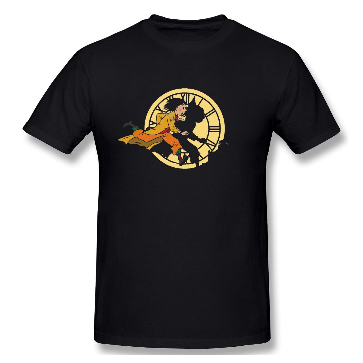 Футболки Мужские Приключения Doc И Einy футболки высокого качества Tee День отца Tops 100% хлопка одежды назад в будущее Tee