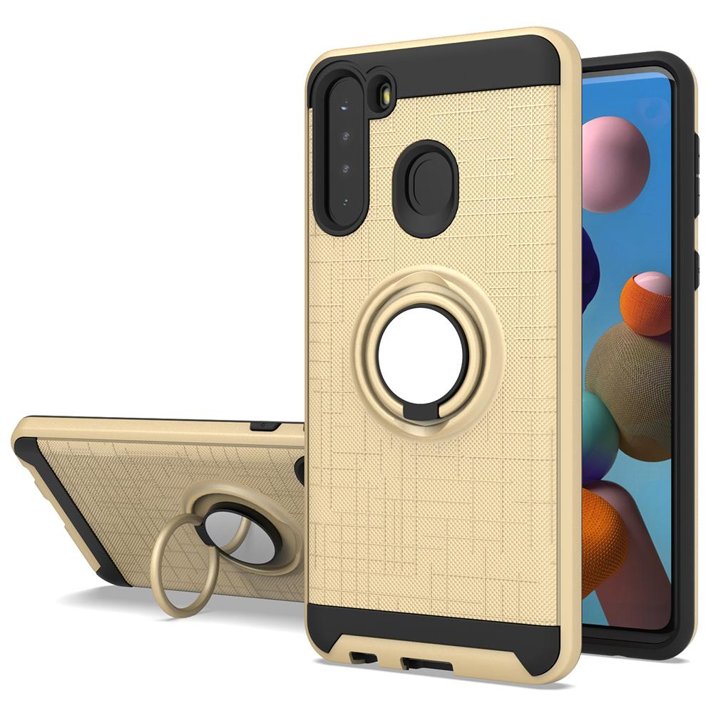 For Samsung A01 Core A21S A20S A10S A11 A21 A51 A71 Kickstand Ring Case Magnetic TPU PC Cover Galaxy S20 Plus Note 20 Ultra
