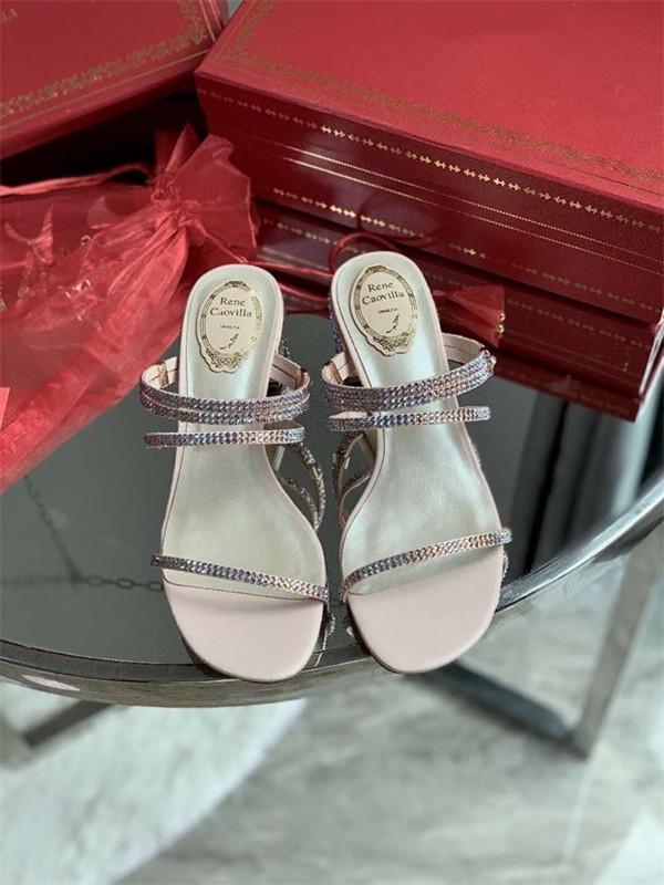 Louis Vuitton LV shoes 2020 новый модный зашнуровать открытые высокие каблуки ног лодыжки ремень shoes34-40 mm200907