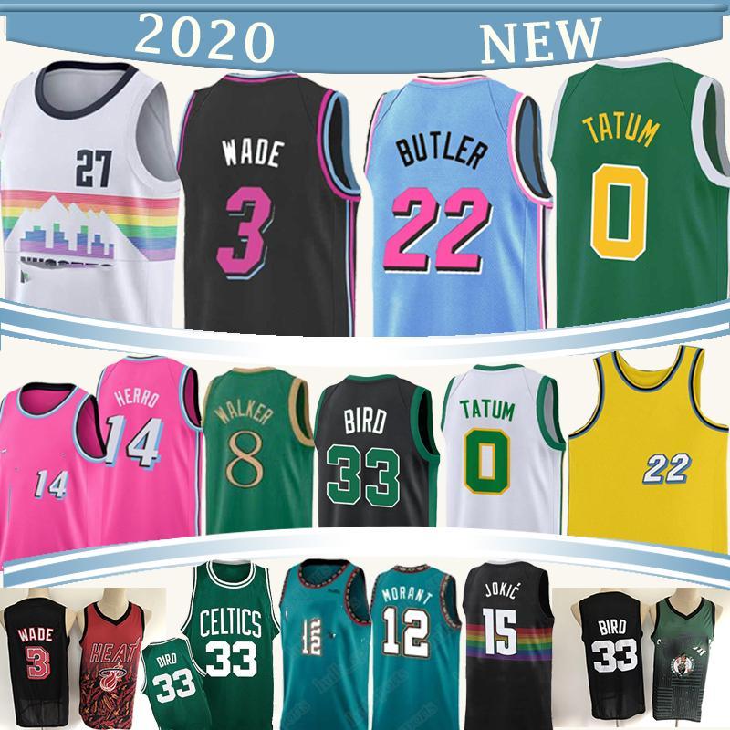 NCAA 27 Murray 3 Wade 22 Butler 0 Tatum bsketball Trikots Ja 12 Morant 15 Jokic camisetas de baloncesto