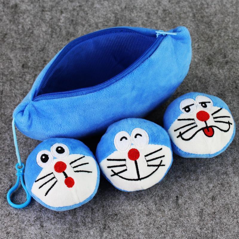 20 centimetri Anime Carino Doraemon peluche tasca molle della peluche ripiene bambola giocattolo per i capretti libera il trasporto regalo