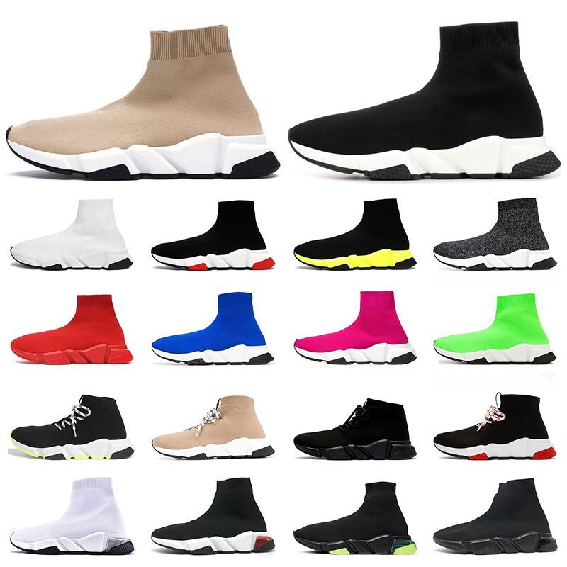 2020 роскошные дизайнерские носки женские мужские повседневные туфли тройные винтажные étoile модные кроссовки на платформе спортивная обувь