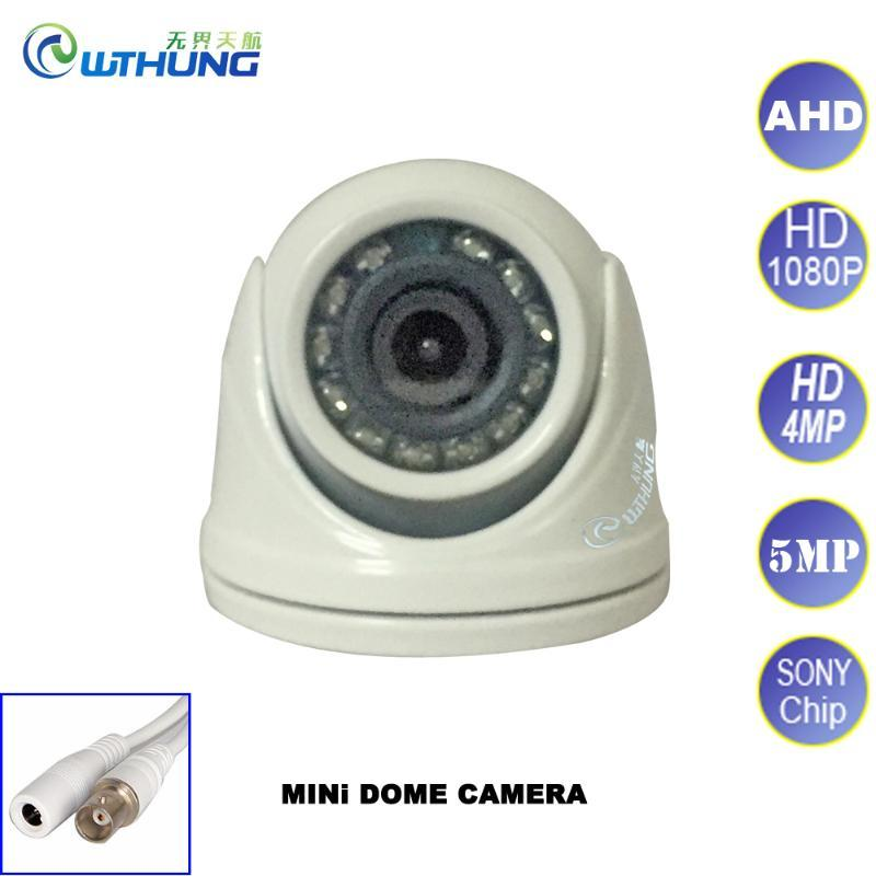 HD Surveillance security camera 1080P 5MP AHD Camera SONY CMOS Mini Dome 12 IR led IR Cut Filter Night vision Waterproof Home