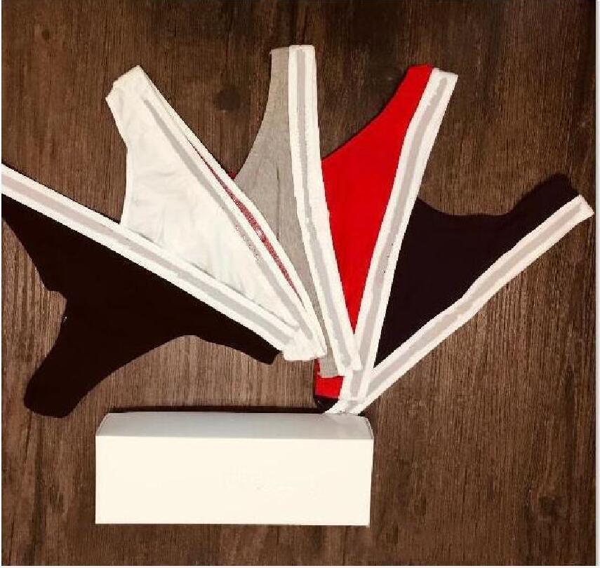 العلامة التجارية أفضل تصميم جديد ثونغ المرأة مثير سراويل داخلية سراويل داخلية مريحة القطن مشروط المرأة السراويل للسيدات ثونغ جودة عالية جديد