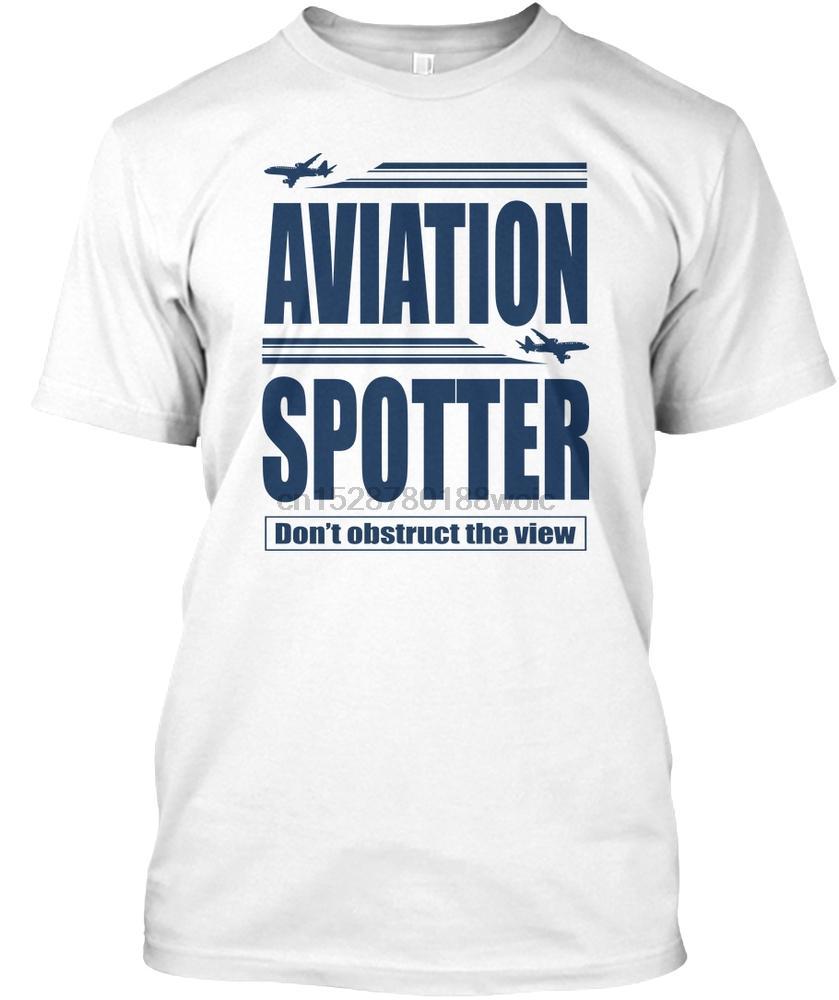 Erkekler Tişörtlü İyi Havacılık Gözcü tişört Kadın Tişört
