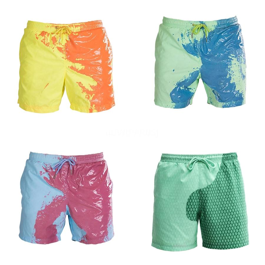 Desmiit Swimwear Mens Swimming Shorts Natação Trunks Quick Dry translúcido Swim Shorts Luz Fino Sexy Plus Size Swimsuit Man # 406