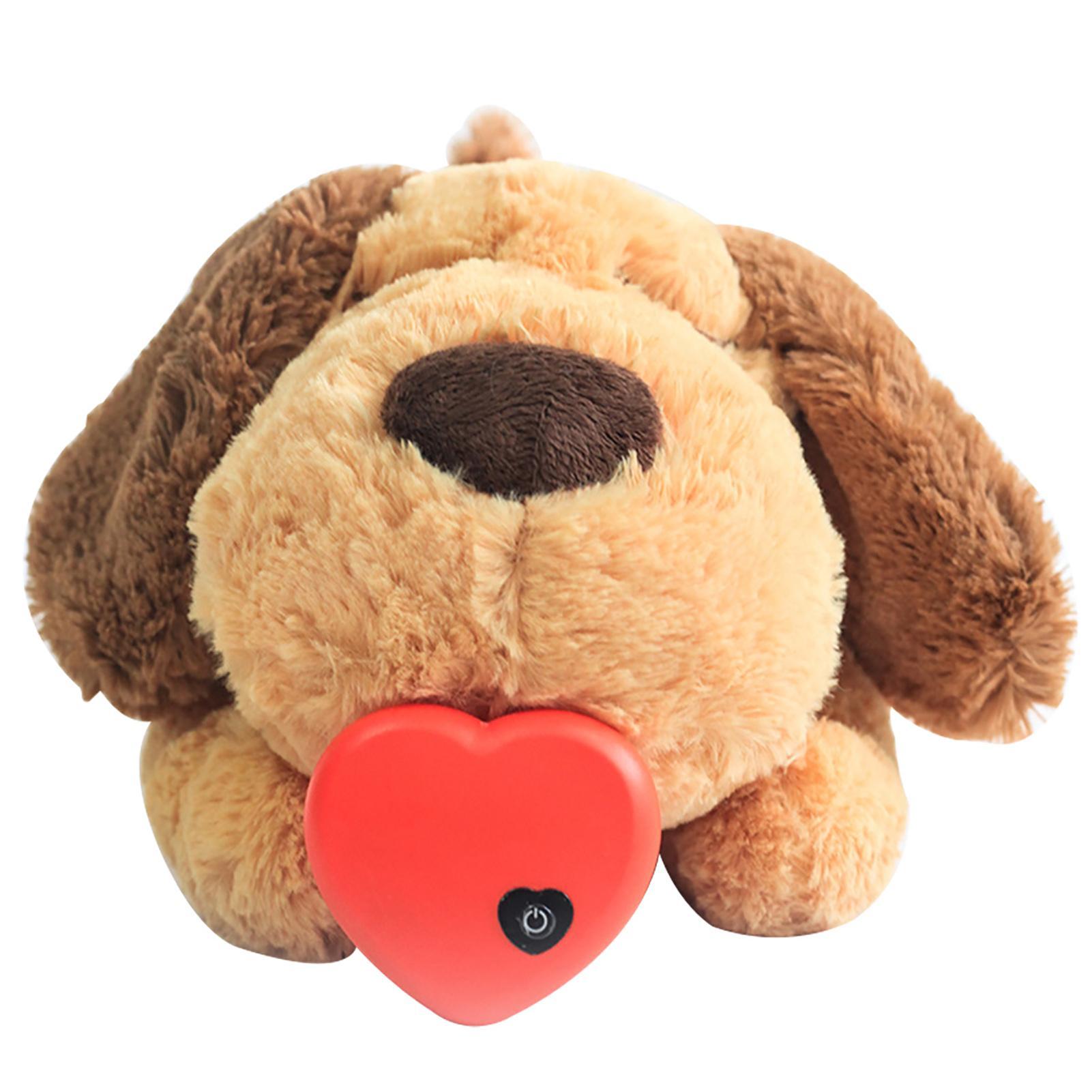 Мягкий плюшевый щенок Поведенческий Aid игрушки Гостиная Собаки Кошки Спальня с тактовым