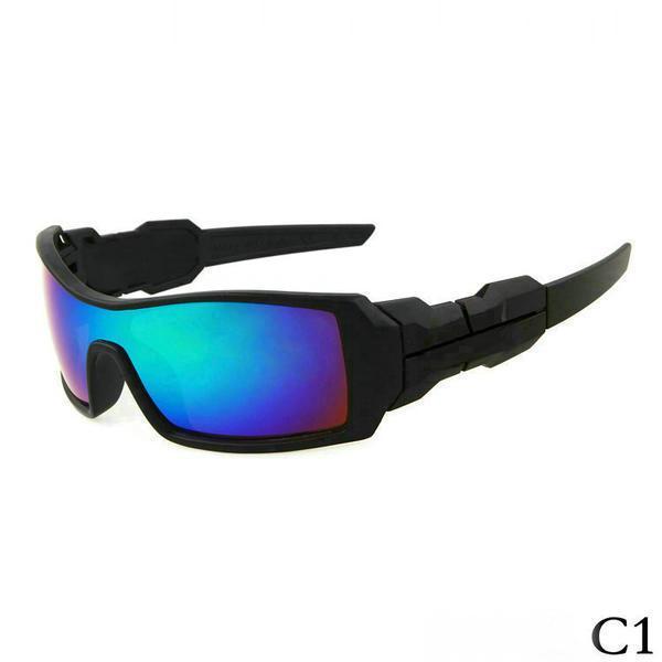 Nuovo Sunglass per gli uomini e di Sunglass Outdoor sport femminile occhiali da sole Google Glasses 1pcs con il contenitore di vetro.