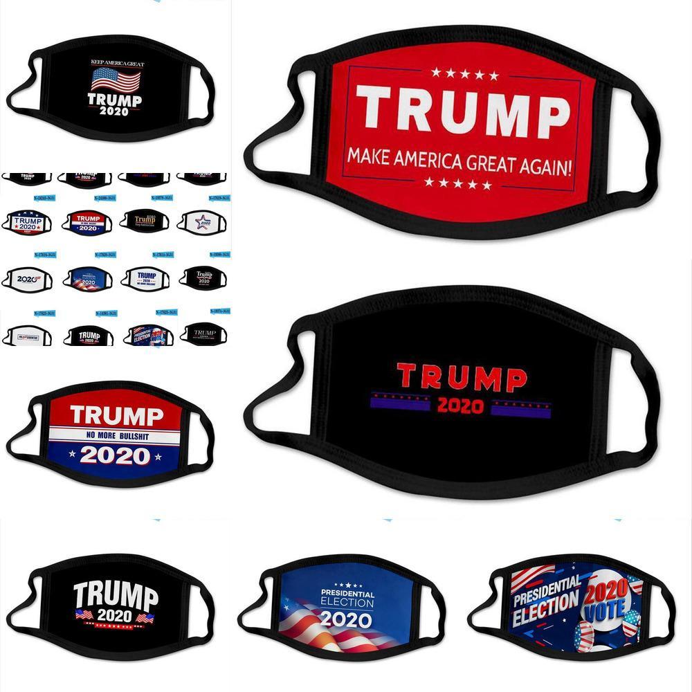 États américains United Impression Masque Trump bouche Enfant Élection Coton 44 Types adulte coupe-vent visage PM2,5 3d Masques noirs Uy2008 Ondv