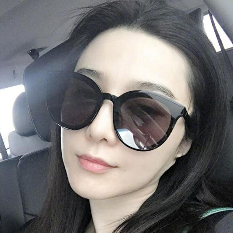 Luxury Vintage Sunglasses Rodada Mulheres Marca Designer 2020 Cat Eye óculos de sol óculos de sol para as mulheres Feminino Ladies Sunglass do espelho
