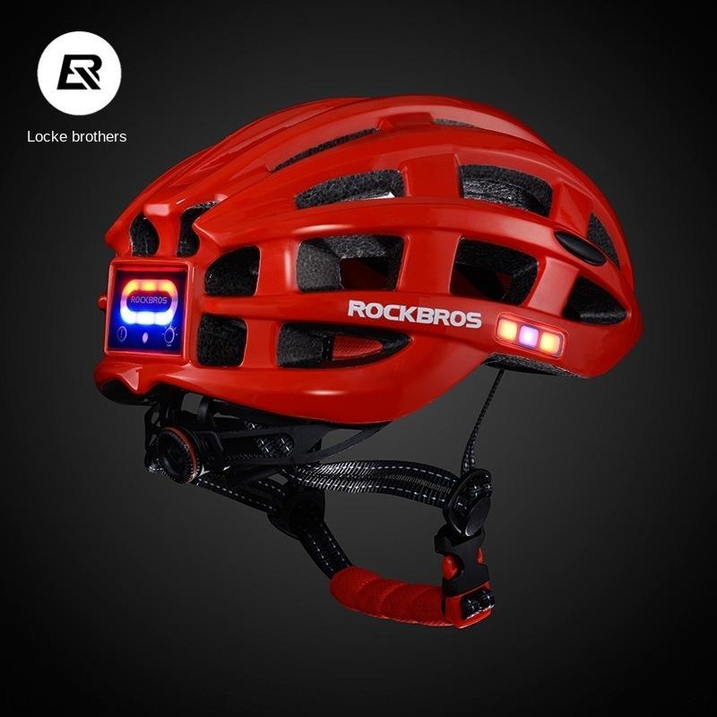 TBWfY Locke irmãos de equitação lâmpada de carro de carga de bicicleta estrada de montanha com bicicleta capacete lâmpada do capacete