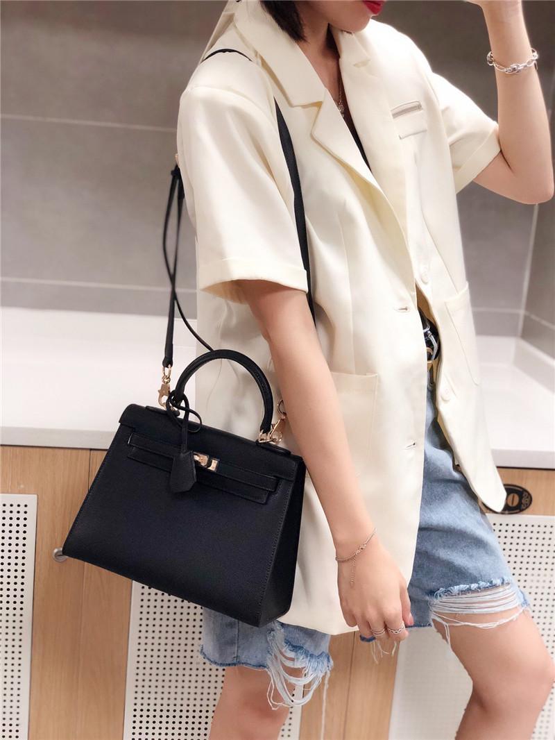 Brand hot sale handbag women single shoulder bag epsom genuine leather messenger bag party shopping commuter bag totes purse