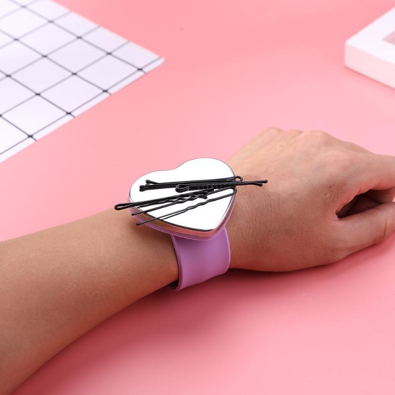 Salon-magnetisches Armband-Handgelenk-Bügel-Gurt-Makeup Haar-Klipp-Halter Styling Werkzeuge Haar Frisur Styling Werkzeug-Zubehör