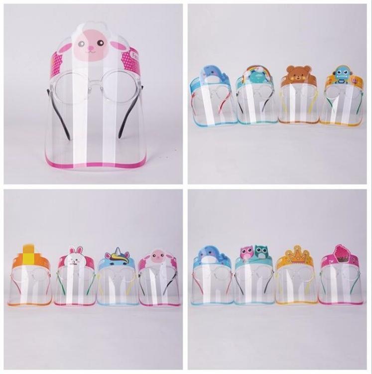 Lotto Il supporto visiera paraspruzzi bambini con Anti Cartoon bambini viso Kitchen Tools vetri trasparenti 50pcs sicurezza Bseii Yh_pack