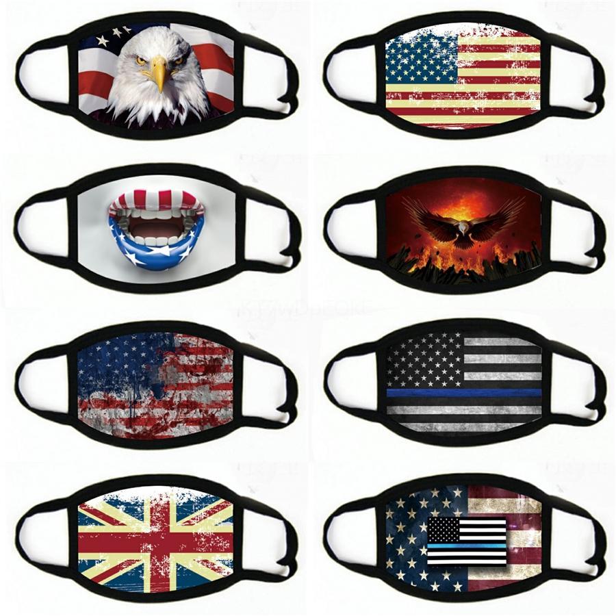 Лицо Masks Headscarf Мотоцикл шарфы волшебный щит # 529 флаг открытый маска для велосипеда Унисекс США лица шарфы gpjkx