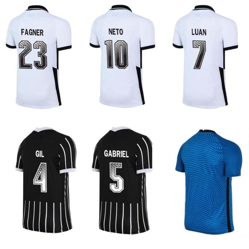집에 2020 camisa 고전 아이 남성 저지 camisas 드 Futebol 팀 GIL 네투 로날도 축구 셔츠 멀리 골키퍼 축구 유니폼