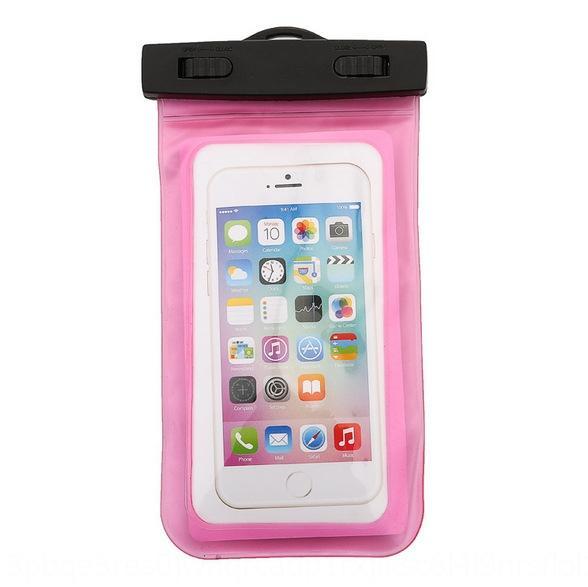 AQ6sM Tpvc transparente Touchscreen-Handy wasserdichte Tasche im Freien Driften Tauch Knopf-Handy wasserdichte Tasche