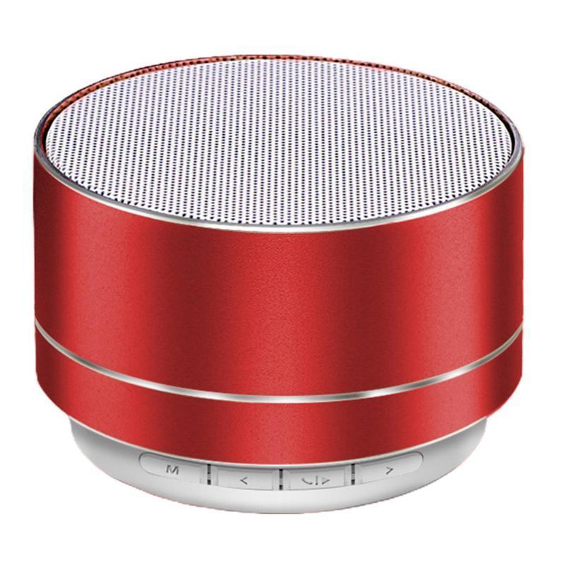 Портативный динамик беспроводной Bluetooth спикер LED Mini Super Bass стерео для планшетных блютуз