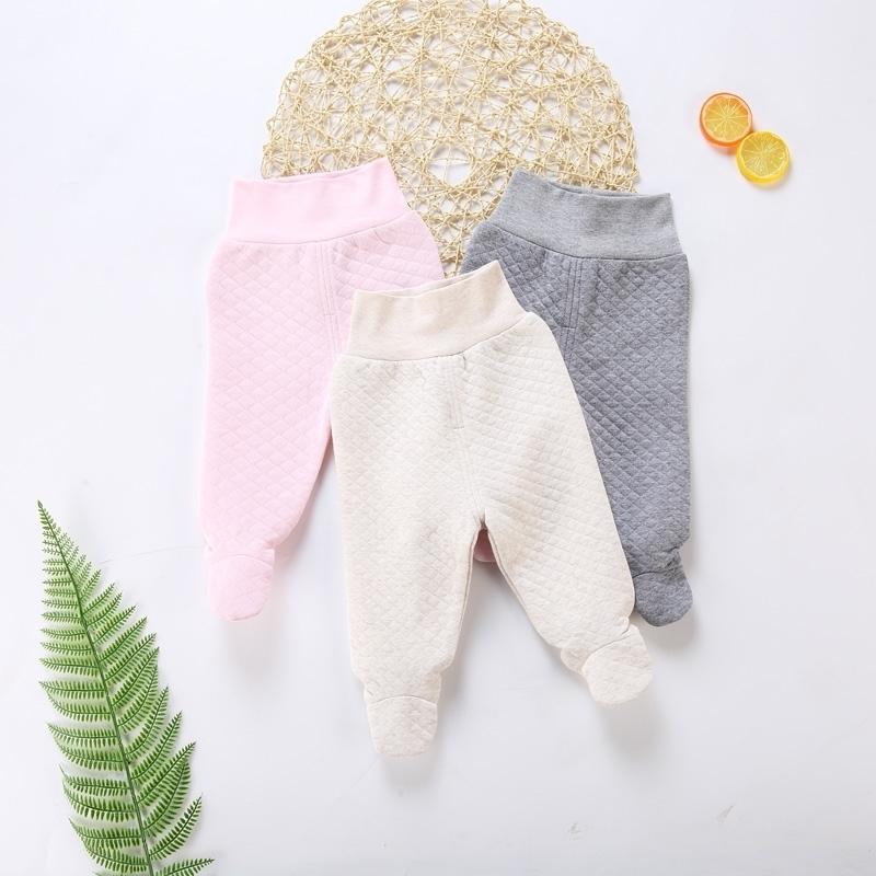 % 100 pamuklu bebek tozluk çocuk giyim yeni doğan erkek kız pantolon yüksek elastikiyet Bebek pantolon MX200811