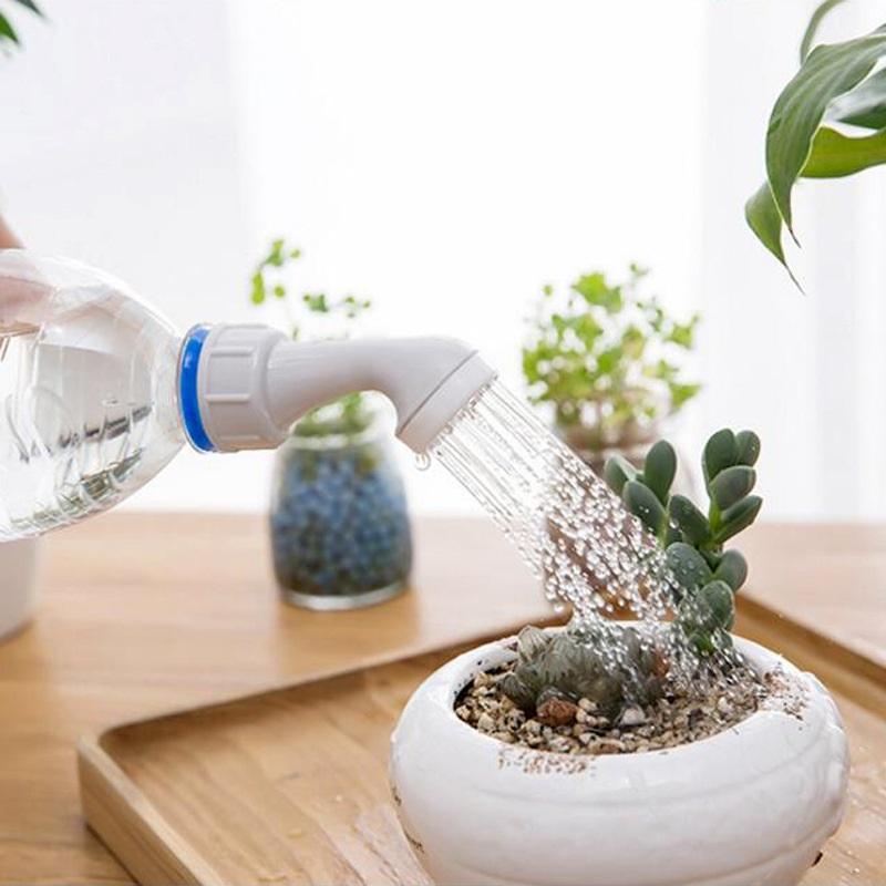 L'eau peut jardin arrosage en plastique Buse d'arrosage pour fleurs abreuvoirs Bouteille d'arrosage Sprinkler sélection pour plante