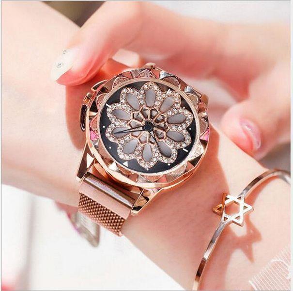 Hot New Watch Kvinnliga studenter Douyin samma webbkändis mode trend med en klocka