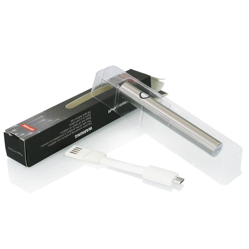 380mAh Max Pré-aqueça o VV Voltage Variable inferior carga com 510 Vape Pen bateria para cookies Micro USB vazia Grosso Oil Cartuchos