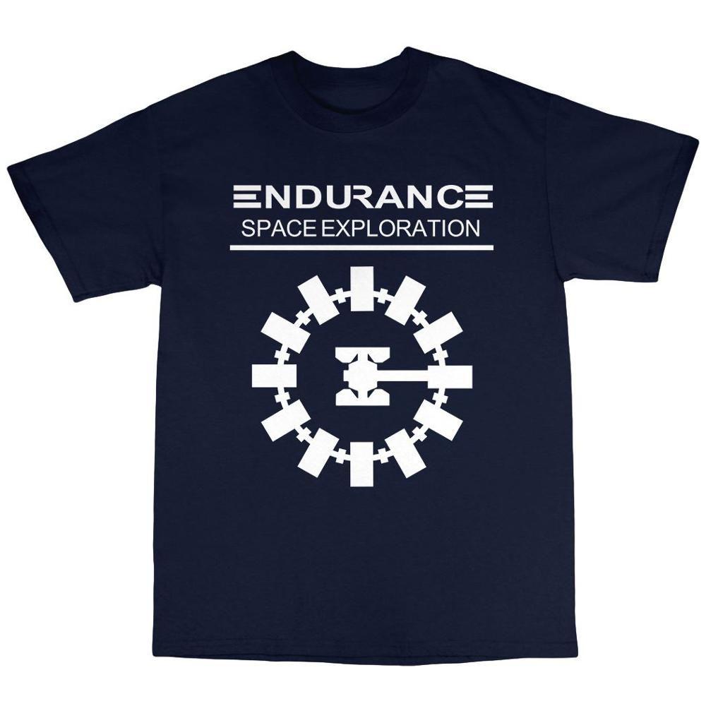 Endurance Weltraumforschung T-Shirt aus 100% Baumwolle Nolan 2019 New Plus Size Herren Homme Sommer Short Sleeve Erstellen Sie Ihr eigenes T-Shirt