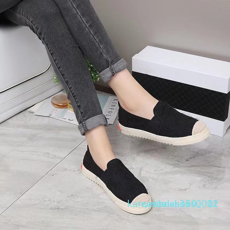 Diseño de lujo Hombres Mujeres zapatillas de deporte barato mejor manera de calidad superior blancos de cuero de los zapatos de plataforma zapatos planos casual de la boda de partido con caja k12
